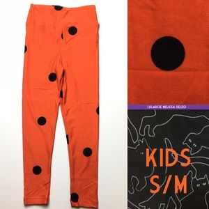 LuLaRoe Kids size s/m LuLaRoe Halloween Leggings